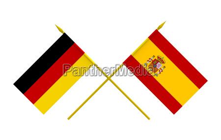 spanien illustration deutschland brd bundesrepublik deutschland