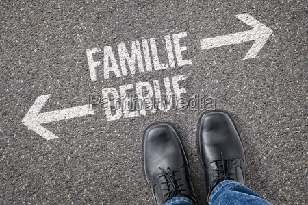 entscheidung an der kreuzung familie