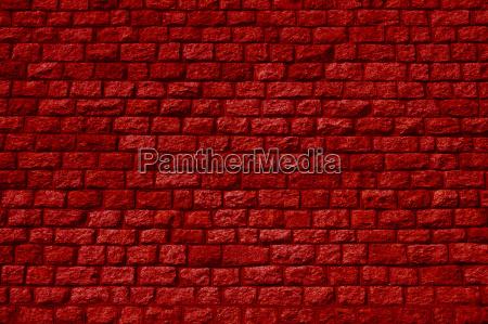 backsteinmauer stockfoto 13963479 rote im garten