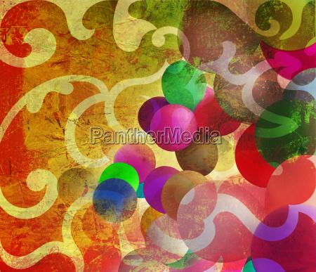 painting graphic textures decorative