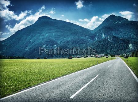fahrt reisen berge tourismus alpen austria