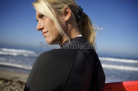 sport portrait portraet potrait strand usa