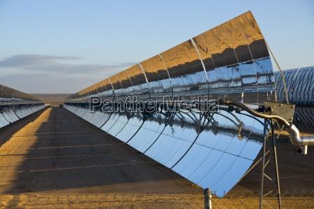 ein solarkraftwerk