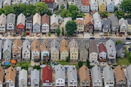 wohnstrasse in new york vorort new