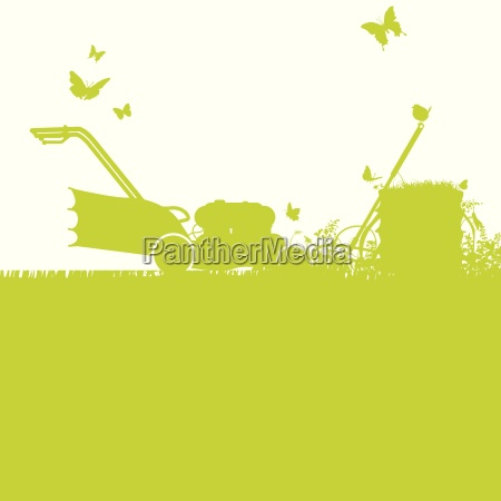 lawn mowers and gardening