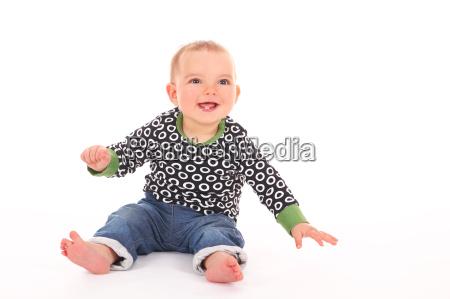 erfreutes baby
