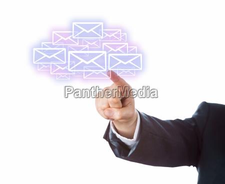arm dem ziel viele e mail
