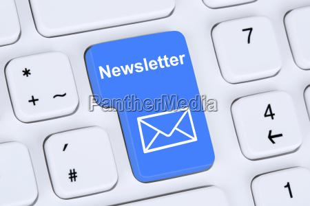 newsletter senden im internet fuer business