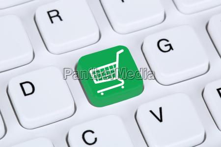 online shopping e commerce einkaufen im