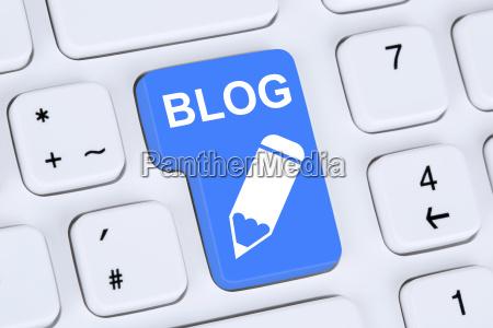 blog schreiben online im internet auf
