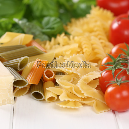 ingredients for a pasta pasta dish
