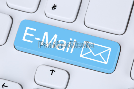 email send on the internet from
