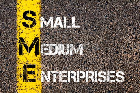 business akronym sme als small medium