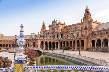 sevilla spanien square