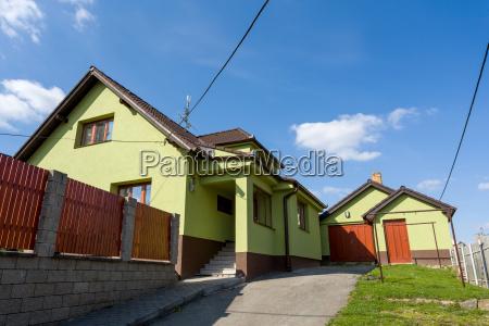landhaus repariert