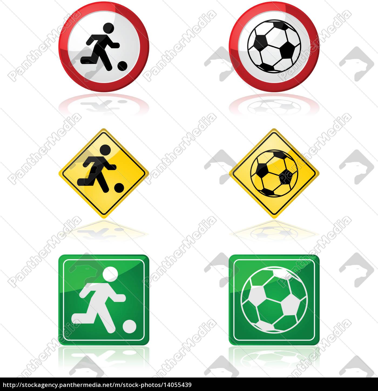 Lizenzfreies Bild 14055439 Fussball Zeichen