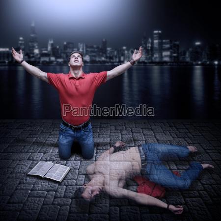 risen from spiritual death