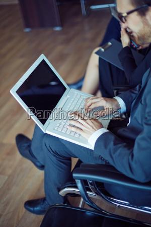 typing at seminar