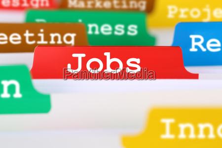 jobs arbeit und stelle suche text