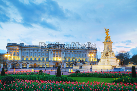 buckingham palace in london grossbritannien