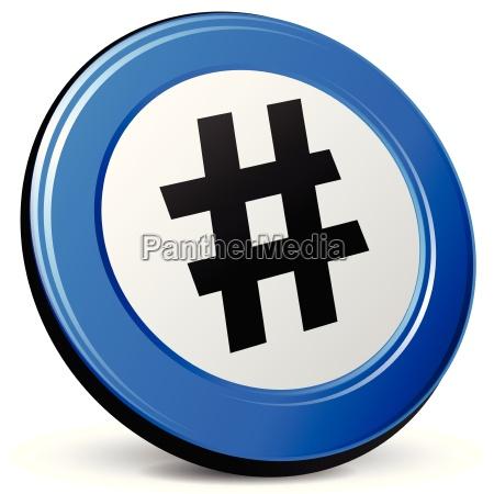 hashtag icon