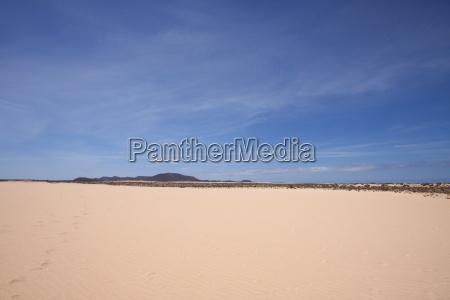 Wüste, Düne, Sand , Fuerteventura, Kanaren, Wolken - 14107973