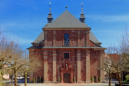 west view of the pilgrimage church
