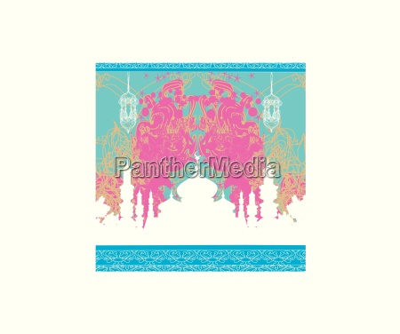 abstract religious background ramadan kareem