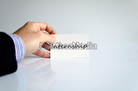 handschreiben praktikum