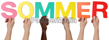 multicultural people group keep the word