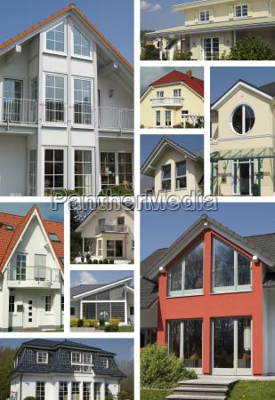 views of residential buildings