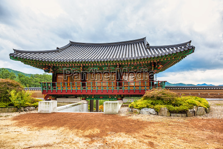 traditional architecture old building temple in