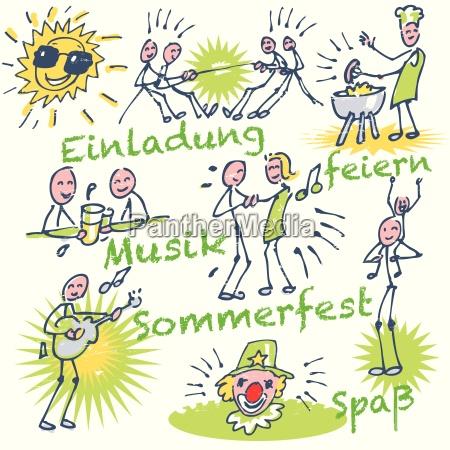 stickmen and summer festival