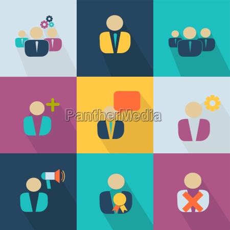business icon style web 20