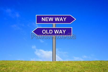 directions old way new way