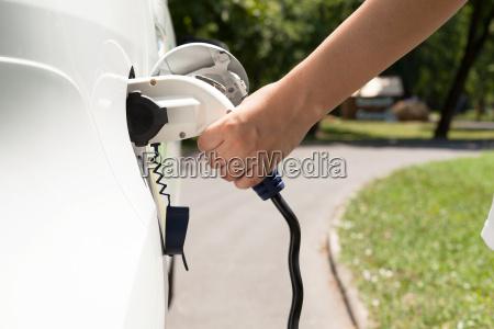 elektrofahrzeug lade