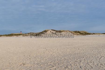 beach at the island sylt