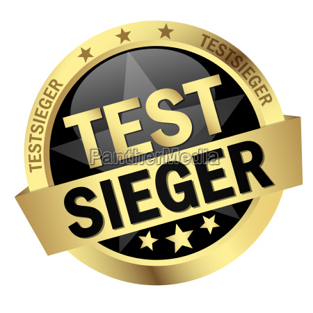 button with text testsieger