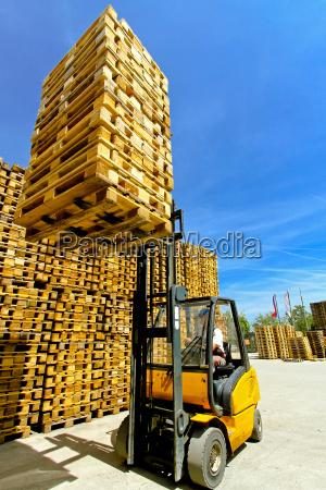 forklift loads