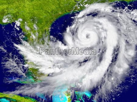 hurrikan in der naehe von florida