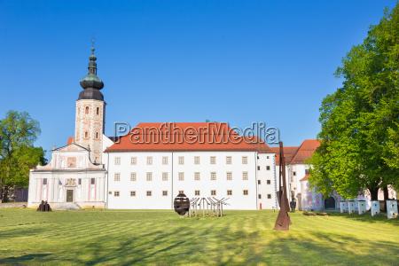 kloster kostanjevica na krki slowenien europa