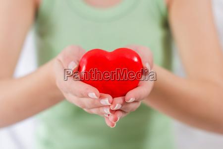 unterstuetzung fuer die liebe im roten