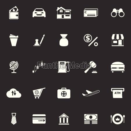 e portemonnaie symbole auf grauem hintergrund