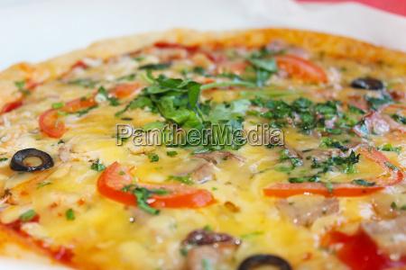 leckere appetitliche pizza