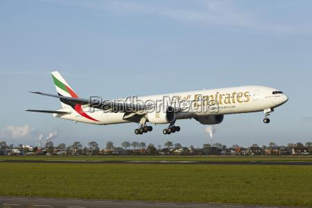 emirate flieger flugzeug