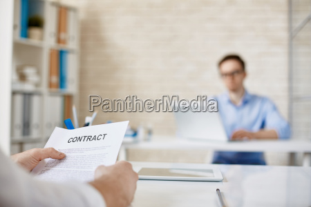 holding contract