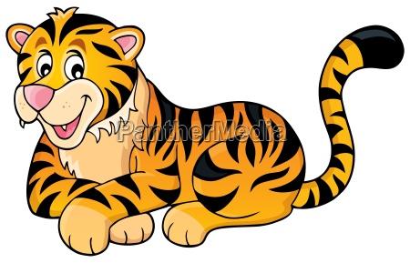 tiger thema bild 1