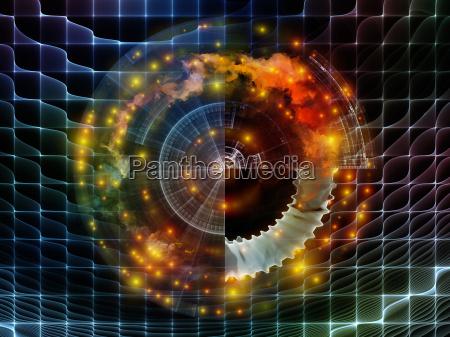 virtual abstract visualization