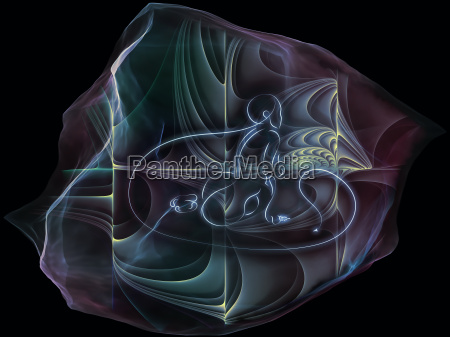 visualization of mind particle