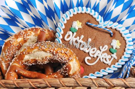 corazon de pan de jengibre oktoberfest
